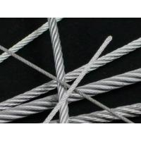 Galvanized Steel IWS 7x19 Aircraft Cable  /  Vinyl Coated Wire Rope