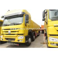 Quality SINOTRUK HOWO 8X4 12 Wheelers Dump Truck For Mining Site And Construction Project for sale