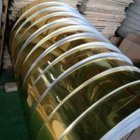 China Gold Mill Finished Mirror Polished Aluminum Sheet For Electric Appliance Panel wholesale