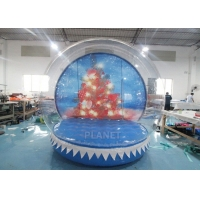 China 0.8mm Transparent Inflatable Snow Globe Photo Booth wholesale
