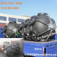 China Floating Yokohama pneumatic rubber fender with tire chain for ships wholesale