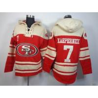 Quality nfl 49ers 7 Kaepernick sweatshirts hoody cheap wholesale source for sale
