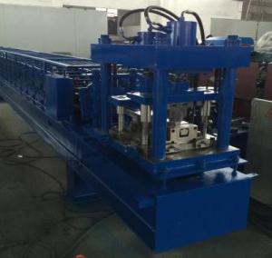 China Manual Decoiler Shutter Roll Forming Machine 40GP Container , Cold Roll Forming Machine wholesale