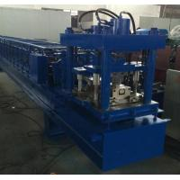 China Manual Decoiler Shutter Roll Forming Machine 40GP Container , Cold Roll Forming Machine wholesale