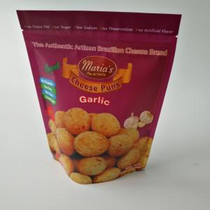 China Cashew Nut Snack Bag Packaging , Custom Printed Aluminum Foil Bags 250 Gram Size wholesale