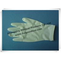 China Surgical Medical Examination Glove Textured / Soomth Latex Powdered / Powder Free wholesale