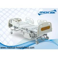 China Multi-Purpose Detachable Foldable Electric Hospital Bed 4 electric motor wholesale