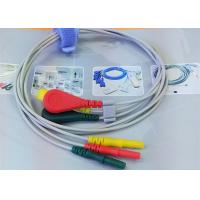 China Patient ECG Monitor Cable 3 Color Alligator clip electrodes Needle Electrode wholesale