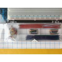 China 70 Pcs Breadboard And Wire Kit 1660 Tie Point ABS Material 20AWG - 29AWG wholesale