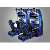 China Car Race Force Feedback Steering Racing Simulator Game Machine With 14 Cars Unlocked wholesale