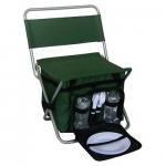 China Folding Chair with Cooler bag (Picnic bag Set)--camping luggage set wholesale
