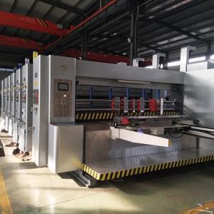China LeadEdgeFeedingCarton Printing Slotting Machine / Flexo Printing Machine wholesale