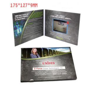 China 2.4 Inch TFT LCD Video Invitation Cards , JPG / JPEG Photo Format Custom Video Brochure wholesale