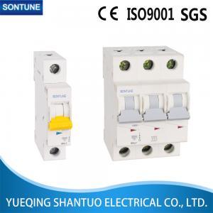 China Light Weight  Snl7 3p Series ( MCB ) Miniature Circuit Breaker 63A 10ka wholesale