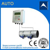 China Fixed Ultrasonic Flow Meter Clamp On Water Flowmeter With Reasonable Price wholesale