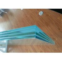 China Colored / Clear PVB Laminated Glass 6.38mm 8.38mm 8.76mm Thickness For Construction wholesale