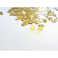 Quality Hthp Synthetic Single Crystal Diamond Plates-MCD,Yellow Mono Diamond plate for sale