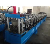 China Round Shape Seamless Gutter Roll Forming Machine Single Chain 15 Stations wholesale