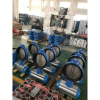 China butterfly valves with pneumatic actuator pneumatic valve actuator on sale