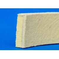 Buy cheap Needling Kevlar Industrial Felt Pads Heat Resistant Yellow Color For Cooling from wholesalers