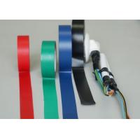 China Black Shiny PVC Heat Resistant Electrical Tape For Cables And Wires wholesale