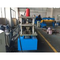 China 7 Stations Rack Roll Forming Machine Gcr15 Rollers Angle wholesale
