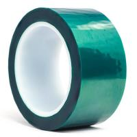 China 3M 8992 Green Polyester High Temperature Tape with Silicone Adhesive , Masking Tape , Dark Green Color wholesale