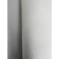 China Shoes Black Eco Friendly Leather , Bonded Leather Upholstery Fabric wholesale