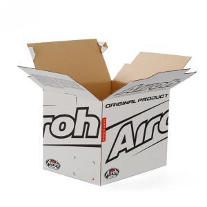 China Custom Folding Corrugated Cardboard Box , Corrugated Cardboard Shipping Boxes on sale