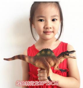China Customized Dinosaur Model Toys L28*W7.5*H13 Plastic Jurassic Park Spinosaurus Toy wholesale