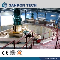 China ISO9001 2500kg Six Cube  Slurry Mixer AAC Autoclave wholesale