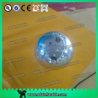 China 40cm Holiday Inflatable Silver Mirror Ball Balloons Dia. 5M For Display wholesale