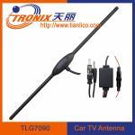 China car digital tv antenna/ am fm booster tv car antenna/ car antenna booster TLG7090 wholesale