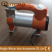 Quality Single Cylinder Tire Inflator Air Compressor / Portable Air Pump For Car for sale