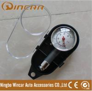 Quality Portable Tire Inflator Digital Tire Pressure Gauge , Mini precision tire pressure gauge for sale