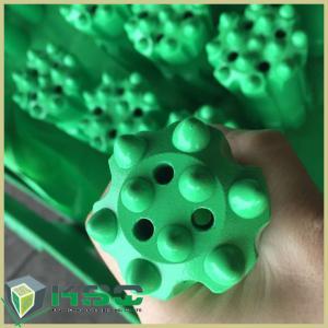 Forging R25 R32 Thread Button Rock Drill Tools Tungsten Carbide Drill Bits