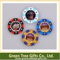 China Big Sticker Poker Chips custom design abs pokerchips 11.5g casino pokerchip EPT chip wholesale