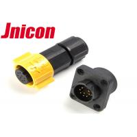 China Super Stable Waterproof Data Connector , Jnicon Waterproof Connector 8 Pin wholesale