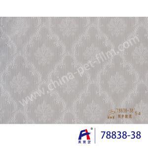 China PVC  Coating  Film    PVC Decorative Film  Synchronized European flower78838-38 wholesale