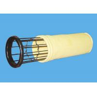 Quality Nonwoven needle FMS Filter Fabric / Dust Filter Bag for Industry for sale