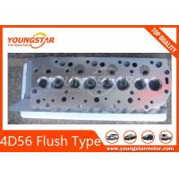 China 4D56 Flush Type Complete Cylinder Head For Mitsubishi 4D56 Valve Sits on sale