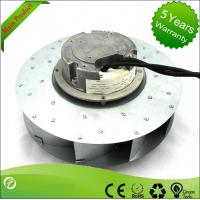 China Filtering Ffu Ec Centrifugal ventilation Fans Save Electricity 145W 250mm wholesale