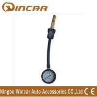 China Dial truck 4X4 digital Tire Pressure gauge with protective rubber casing wholesale