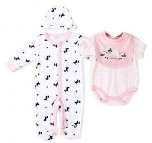 China Spring Autumn Baby Clothes Gift Set 180G 100% Cotton  Interlock Nb - 9M on sale