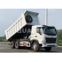 Buy cheap SINOTRUK Howo Mining Dump Truck Middle Lifting 30t 5400*2300*1500mm Cargo Box from wholesalers