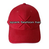China Custom high quality 100% cotton 3D embroidered baseball hat wholesale