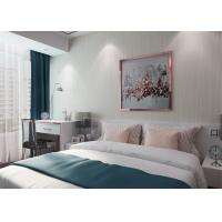China Simple Grey Stripes Modern Removable Wallpaper for Home , Embossed Wall Coverings wholesale