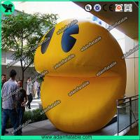 China Inflatable Pacman,Inflatable Smile Face , Inflatable Pacman Cartoon wholesale