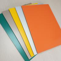 China Aluminum PVC Composite Wall Panels Prefabricated Building Fire Proof 5mm wholesale