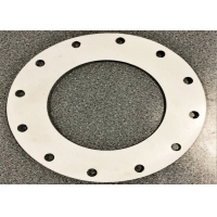 China 3.2mm Thickness Non Metallic Hole Full Face Flange Gasket For Plate wholesale